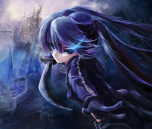 Rating: Safe Score: 30 Tags: black_rock_shooter black_rock_shooter_(character) sword ushas vocaloid User: lostmemory