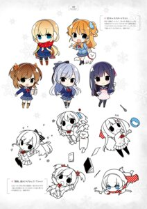 Rating: Safe Score: 9 Tags: chibi digital_version gin'iro_haruka tone_work's yunoki_gao User: Twinsenzw