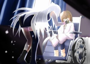 Rating: Safe Score: 6 Tags: add mahou_shoujo_lyrical_nanoha mahou_shoujo_lyrical_nanoha_a's pantyhose reinforce thighhighs yagami_hayate User: Radioactive