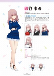 Rating: Questionable Score: 6 Tags: alice_gear_aegis character_design chibi heels seifuku shimada_humikane yotsuya_yumi User: Radioactive