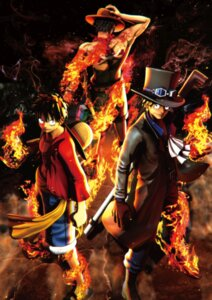 Rating: Safe Score: 9 Tags: male monkey_d_luffy one_piece portgas_d_ace sabo tagme tattoo User: charunetra