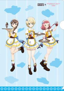 Rating: Safe Score: 9 Tags: darjeeling girls_und_panzer maid rosehip rukuriri tagme waitress User: saemonnokami