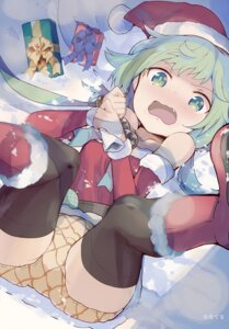 Rating: Safe Score: 20 Tags: christmas dress nanateru pantsu thighhighs User: Hatsukoi
