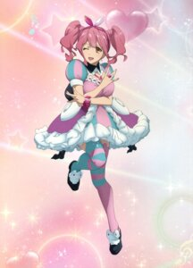 Rating: Safe Score: 16 Tags: cleavage dress heels macross macross_delta majiro makina_nakajima thighhighs User: fireattack