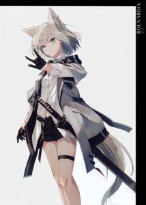 Rating: Safe Score: 27 Tags: animal_ears garter nagishiro_mito sword User: kiyoe