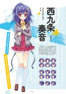 Rating: Safe Score: 29 Tags: anapom nishikujou_kanon seifuku shukufuku_no_kane_no_oto_wa_sakura-iro_no_kaze_to_tomo_ni User: Checkmate