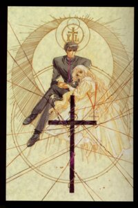 Rating: Safe Score: 3 Tags: clamp monou_fuuma monou_kotori x User: Radioactive