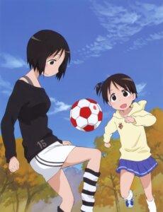 Rating: Safe Score: 12 Tags: ichigo_mashimaro itou_chika itou_nobue sakai_kyuuta soccer User: Radioactive