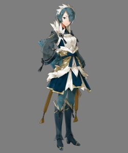 Rating: Questionable Score: 4 Tags: fire_emblem fire_emblem_heroes fire_emblem_if kyuusugi_toku maid nintendo pantyhose setsuna_(fire_emblem) transparent_png weapon User: Radioactive