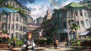 Rating: Safe Score: 28 Tags: armor dress fairy feet jan_(artist) landscape weapon wings User: blooregardo