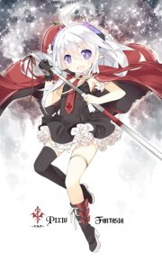 Rating: Safe Score: 48 Tags: garter horns pixiv_fantasia pointy_ears saru thighhighs User: fairyren