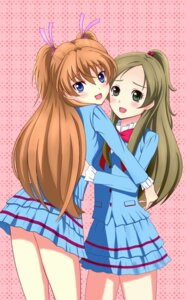 Rating: Safe Score: 5 Tags: houjou_hibiki minamino_kanade nak pretty_cure seifuku suite_pretty_cure User: Velociraptor