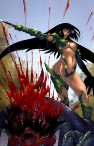 Rating: Questionable Score: 7 Tags: blood guro screening sumita_kazasa underboob witchblade witchblade_takeru User: Davison