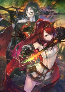 Rating: Safe Score: 58 Tags: cleavage gun gust_(company) megane sword thighhighs yoru_no_nai_kuni yoshiku User: saemonnokami