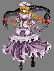 Rating: Safe Score: 16 Tags: dress r0g0b0 touhou transparent_png yakumo_yukari User: blooregardo