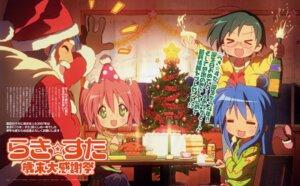 Rating: Safe Score: 7 Tags: akitake_seiichi christmas izumi_konata izumi_soujirou kobayakawa_yutaka lucky_star narumi_yui User: vita