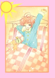 Rating: Safe Score: 4 Tags: card_captor_sakura clamp kinomoto_sakura pajama sheets User: Omgix