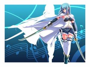 Rating: Safe Score: 28 Tags: miki_sayaka puella_magi_madoka_magica sword thighhighs tsukumo User: 椎名深夏
