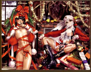 Rating: Questionable Score: 28 Tags: breasts christmas loli naked_ribbon nipples pantsu see_through shirow_masamune User: nanashioni