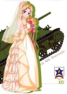 Rating: Safe Score: 31 Tags: dress girls_und_panzer kay_(girls_und_panzer) wedding_dress User: drop
