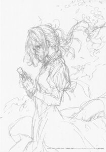 Rating: Safe Score: 7 Tags: monochrome sketch violet_evergarden violet_evergarden_(character) User: tuyenoaminhnhan