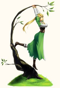 Rating: Safe Score: 27 Tags: alfheim_online dress heels leafa sword_art_online yi_qiang User: animesekai