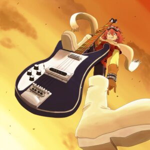 Rating: Safe Score: 10 Tags: flcl guitar haruhara_haruko tagme User: hobbito