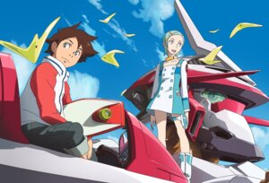 Rating: Safe Score: 7 Tags: eureka eureka_seven nirvash_typezero renton_thurston User: Radioactive