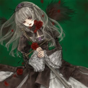 Rating: Safe Score: 7 Tags: rozen_maiden suigintou yukishiro User: charunetra