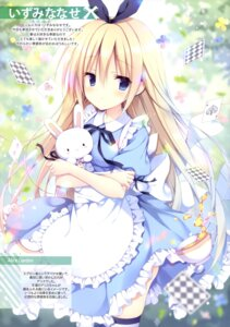 Rating: Questionable Score: 33 Tags: alice alice_in_wonderland dress izumi_nanase thighhighs User: drop