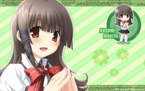 Rating: Safe Score: 25 Tags: chibi hulotte ikegami_akane makiya_kasumi wallpaper with_ribbon User: alimilena