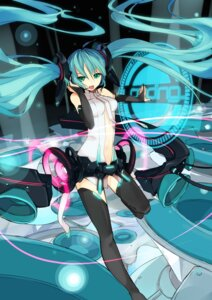 Rating: Safe Score: 25 Tags: hatsune_miku jiong_tu miku_append thighhighs vocaloid vocaloid_append User: charunetra