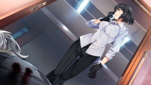 Rating: Safe Score: 36 Tags: blood dress_shirt front_wing game_cg grisaia_phantom_trigger nogami_(grisaia) watanabe_akio User: kiyoe