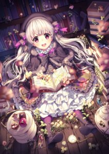 Rating: Safe Score: 63 Tags: alice_(fate/extra) fate/extra fate/grand_order fate/stay_night lolita_fashion nursery_rhyme_(fate/extra) rosuuri signed User: blooregardo