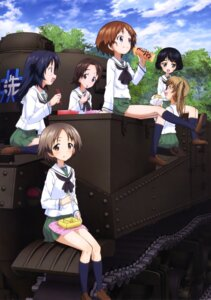 Rating: Safe Score: 12 Tags: girls_und_panzer maruyama_saki megane oono_aya sakaguchi_karina sawa_azusa seifuku utsugi_yuuki yamagou_ayumi User: drop