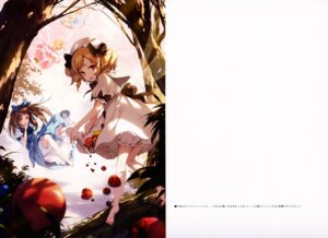 Rating: Safe Score: 24 Tags: bloomers dress ke-ta luna_child sketch star_sapphire touhou wings User: red_destiny