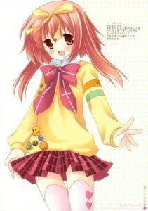 Rating: Safe Score: 20 Tags: akihime_sumomo ichigosize nanatsuiro_drops natsume_eri seifuku thighhighs User: Kalafina