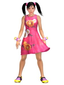 Rating: Safe Score: 5 Tags: cg ling_xiaoyu tekken User: majoria