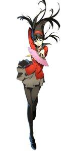 Rating: Safe Score: 30 Tags: amagi_yukiko heels megaten nakano_maru pantyhose persona persona_4 seifuku sweater User: saemonnokami