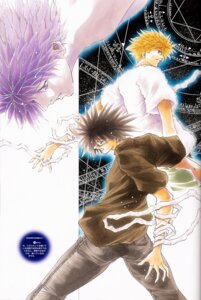 Rating: Safe Score: 3 Tags: amano_ginji ayamine_rando bandages get_backers male megane mido_ban User: charunetra