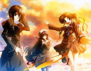 Rating: Safe Score: 9 Tags: amamiya_yuuko ef_~a_fairytale_of_the_two~ ef_~a_tale_of_melodies~ hayama_mizuki hirono_nagi jpeg_artifacts nanao_naru seifuku User: admin2