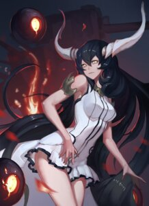 Rating: Safe Score: 44 Tags: anchorage_water_oni dress horns kantai_collection reisun001 User: Radioactive