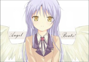 Rating: Safe Score: 26 Tags: angel_beats! kitsune_(scaz) seifuku tenshi wings User: Riven