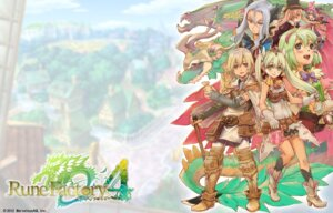 Rating: Questionable Score: 6 Tags: harvest_moon marvelous_entertainment rune_factory rune_factory_4 wallpaper User: fly24