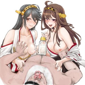 Rating: Explicit Score: 36 Tags: breast_grab breasts haruna_(kancolle) kantai_collection kongou_(kancolle) nipples shoukaki User: Velociraptor