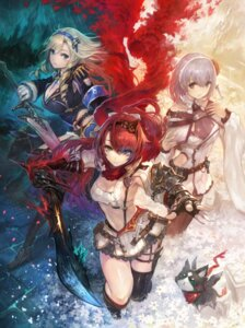 Rating: Safe Score: 55 Tags: alushe_anatoria cleavage dress gust_(company) heels liliana_selphin neko ruhenheid_ariarod stockings sword thighhighs uniform weapon yoru_no_nai_kuni yoru_no_nai_kuni_2 yoshiku User: NotRadioactiveHonest