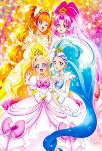 Rating: Safe Score: 15 Tags: akagi_towa amanogawa_kirara dress go!_princess_pretty_cure haruno_haruka kagawa_hisashi kaidou_minami pretty_cure User: charunetra