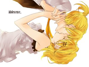 Rating: Safe Score: 12 Tags: kagamine_len kagamine_rin rikuko vocaloid User: Radioactive