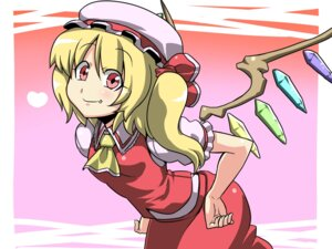 Rating: Safe Score: 5 Tags: flandre_scarlet touhou tsuki_wani wallpaper User: Radioactive