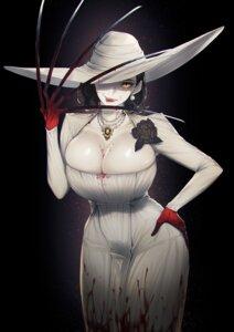 Rating: Safe Score: 25 Tags: alcina_dimitrescu blood blueorca cleavage dress lingerie no_bra resident_evil resident_evil_village User: Mr_GT